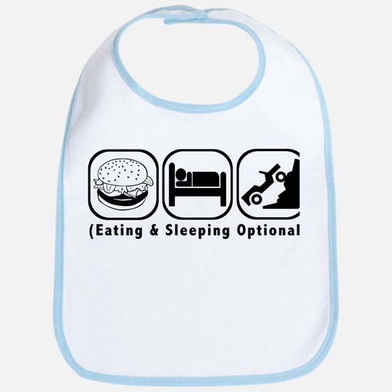 Eat Sleep Crawl Bib