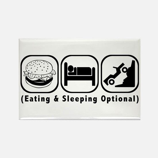 Eat Sleep Crawl Rectangle Magnet