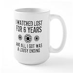 Lousy Ending Large Mug