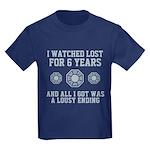 Lousy Ending Kids Dark T-Shirt