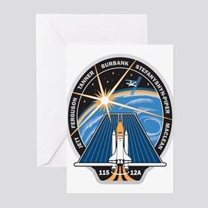 STS 115 Patch Greeting Cards (Pk of 10)