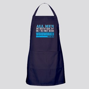 All Men Created Equal Finest Become W Apron (dark)