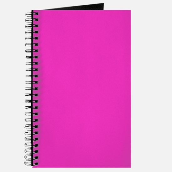Hot Pink Writer's Notebook Journal