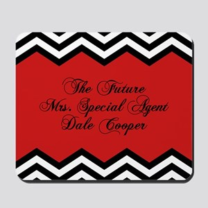 Future Mrs Special Agent Dale Cooper Mousepad