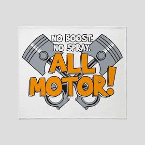 All Motor Throw Blanket