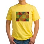 Triangles Yellow T-Shirt
