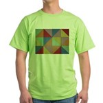 Triangles Green T-Shirt