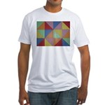 Triangles Fitted T-Shirt