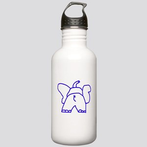 Blue Elephant Stainless Water Bottle 1.0L