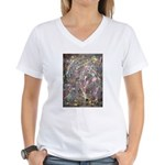 Paint Drip Women's V-Neck T-Shirt