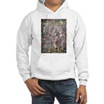 Paint Drip Hooded Sweatshirt