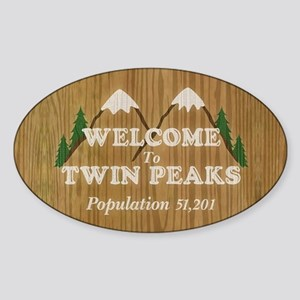 Welcome To Twin Peaks Sticker