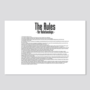 The Rules For Relationships Postcards (Package of