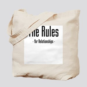 The Rules For Relationships Tote Bag