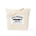 USS PRAIRIE AD-15 Tote Bag