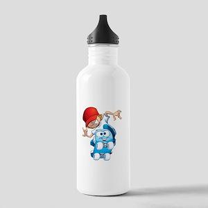 Skateboarding Stainless Water Bottle 1.0L