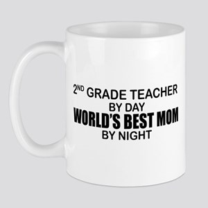 World's Best Mom - 2nd Grade Mug