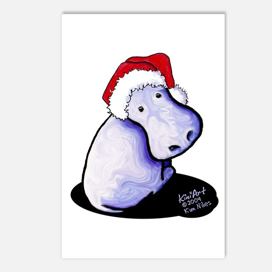 Holiday Hippo Postcards (Package of 8)
