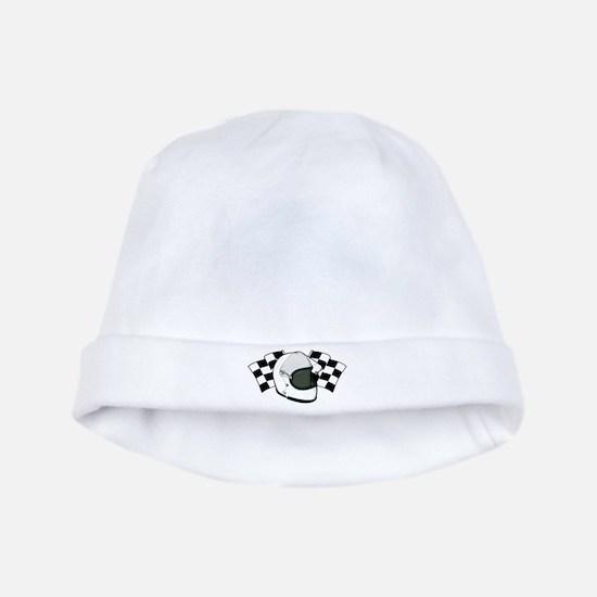 Helmet & Flags baby hat