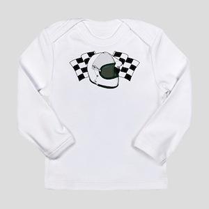 Helmet & Flags Long Sleeve Infant T-Shirt
