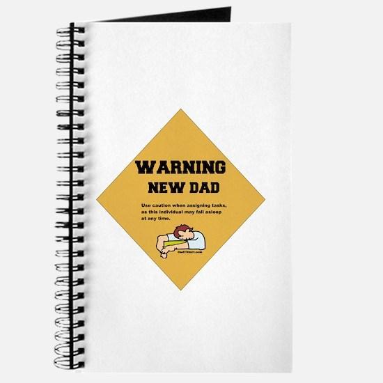Warning New Dad Journal