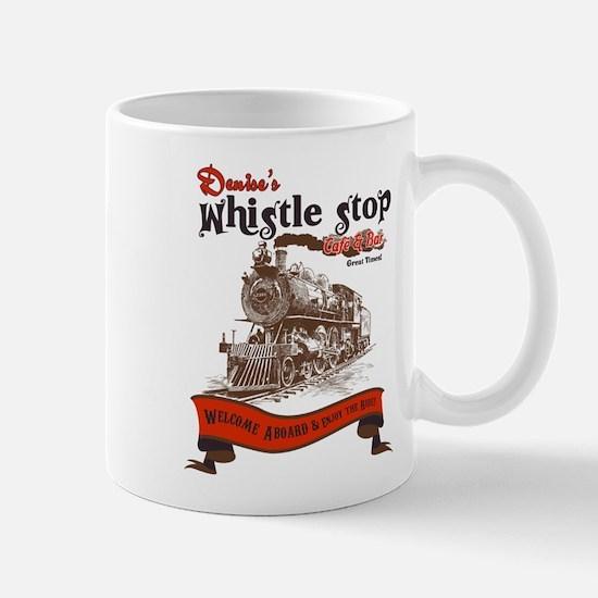 denisewhistlestopcafe2 Mugs