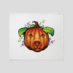 The Great Pupkin Throw Blanket