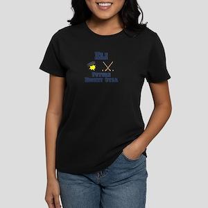 Eli - Future Hockey Star Women's Dark T-Shirt