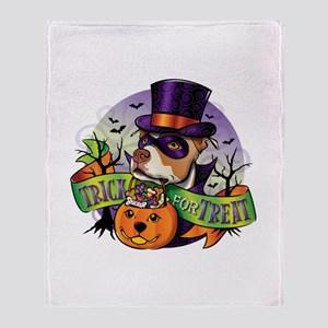 Trick for Treat Throw Blanket