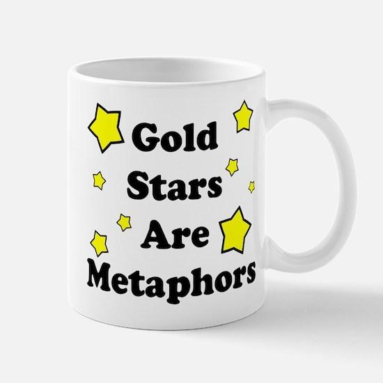 Gold Stars are Metaphors Mug