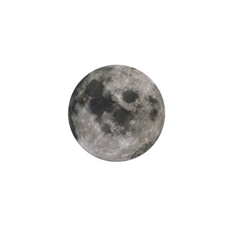Moon Mini Button (10 pack)