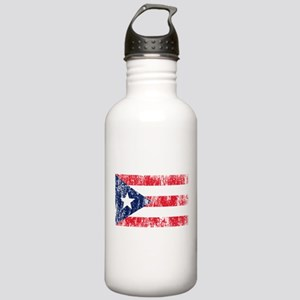 Puerto Rican Pride Flag Stainless Water Bottle 1.0