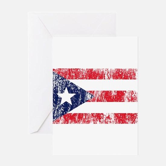 Puerto Rican Pride Flag Greeting Card
