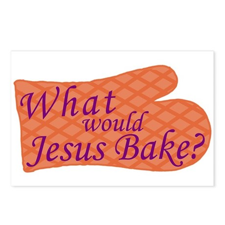 What Would Jesus Bake? Postcards (Package of 8)