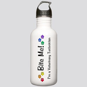 Bite Me Vet Tech Stainless Water Bottle 1.0L