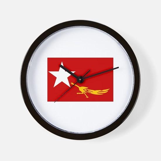 Unique Aung san suu kyi Wall Clock