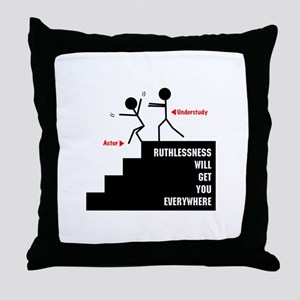 Understudy Throw Pillow
