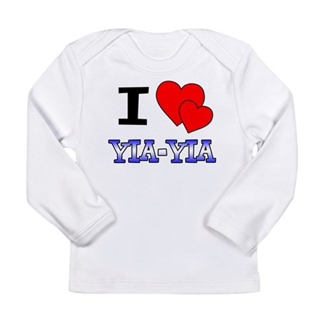 I Love Yia-Yia Long Sleeve Infant T-Shirt