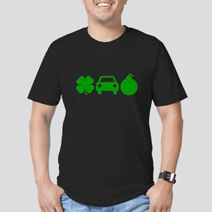 Irish Car Bomb Men's Fitted T-Shirt (dark)