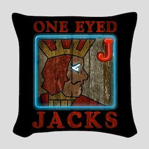 Twin Peaks Team Woven Throw Pillow