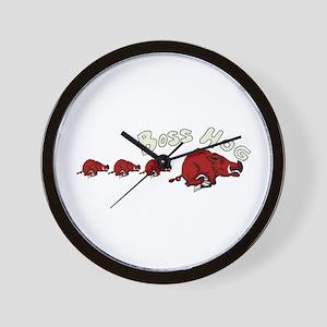Boss Hog Wall Clock