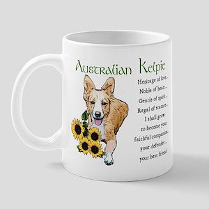 Australian Kelpie Mug
