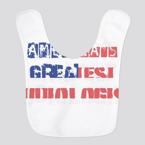 America's Greatest Audiologist Polyester Baby Bib
