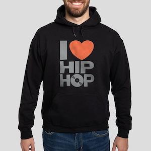 I Love Hip Hop Hoodie (dark)