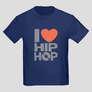 I Love Hip Hop Kids Dark T-Shirt
