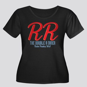 Twin Peaks Double R Diner Plus Size T-Shirt