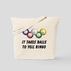 Balls to Bingo Tote Bag