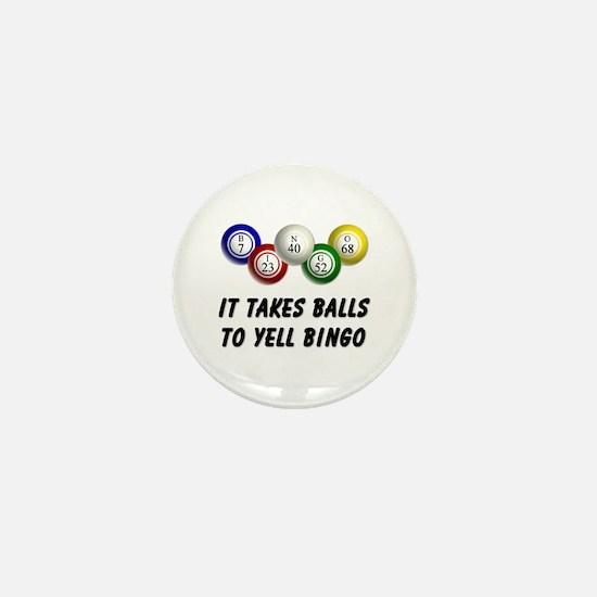 Balls to Bingo Mini Button