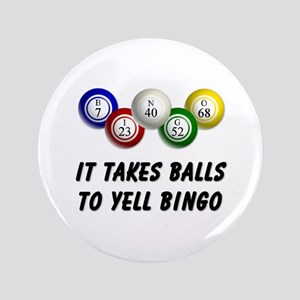"Balls to Bingo 3.5"" Button"