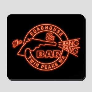 Twin Peaks Roadhouse Bang Bang Mousepad